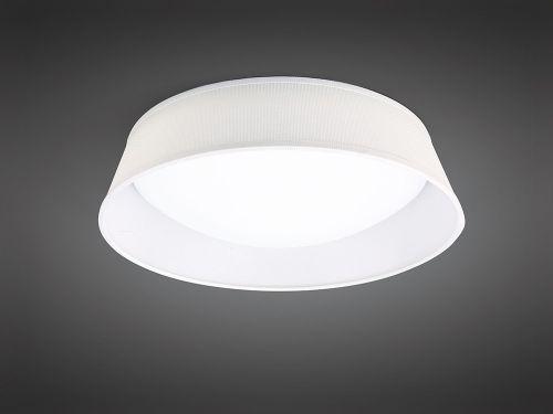 Mantra M4961 Nordica 21W Flush Ceiling Fitting LED 45CM White Acrylic Ivory Shade