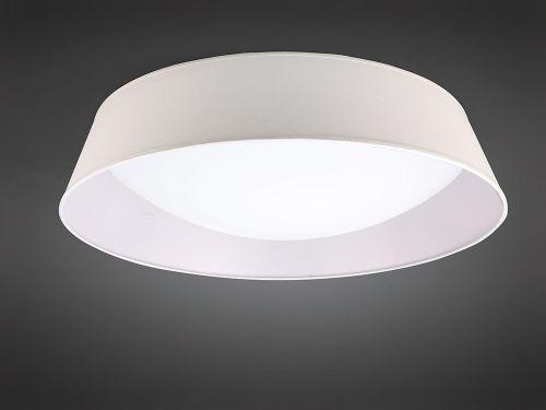 Mantra M4963E Nordica 9 Light Flush Ceiling Fitting 90cm White Acrylic Ivory Shade