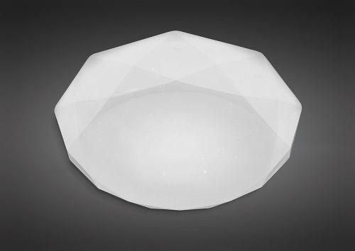 Mantra M5112 Diamante Flush Ceiling Fitting 30W LED White Acrylic