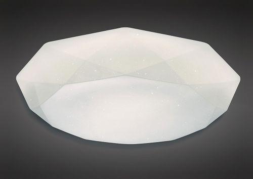 Mantra M5113 Diamante Ceiling Light Fitting 21W LED 5000K 2100lm White Acrylic