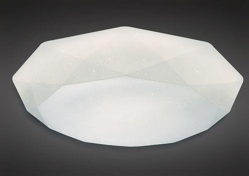 Mantra M5114 Diamante Flush Ceiling Fitting 30W LED White Acrylic