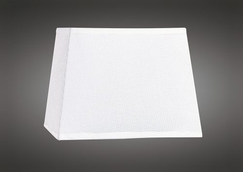 Mantra M5239 Habana White Square Shade 160 200 x 152mm Suitable for Wall Lamps