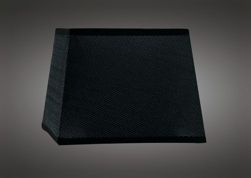 Mantra M5240 Habana Black Square Shade 160 200 x 152mm Suitable for Wall Lamps