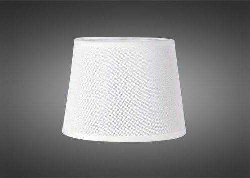 Mantra M5322 Habana White Round Shade 210 240mm x 165mm Suitable for Table Lamps