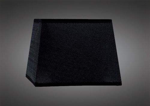 Mantra M5325 Habana Black Square Shade 240 240x 165mm Suitable for Table Lamps