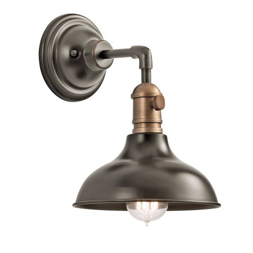Kichler KL/COBSON1 OZ Cobson 1Lt Old Bronze Wall Light