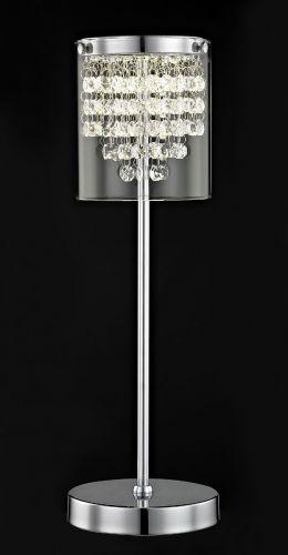 Impex LED608242/01/TL/CH Florina LED Chrome Table Lamp
