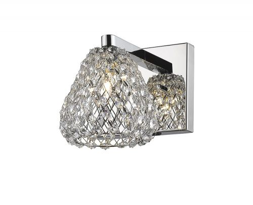 Impex CFH501131/01/WB/CH Simone 1Lt Chrome Wall Light