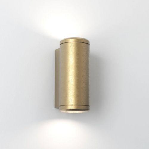 Astro Jura 1375002 Outdoor Wall Light Coastal Brass IP44 Coastal