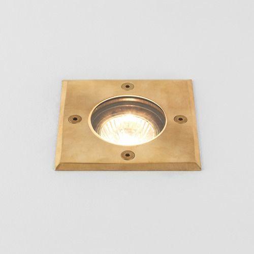 Astro Gramos 1312004 Single Outdoor Ground Light Natural Brass