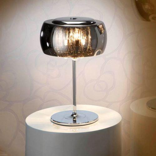Schuller Argos 508516UK Table Lamp 3 Light Chrome