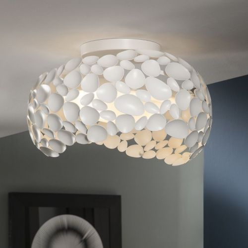 Schuller Narisa 266847 Ceiling Flush 5 Light Matt White