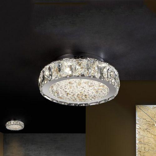 Schuller Dana 456342 LED Ceiling Flush Light Fitting Chrome