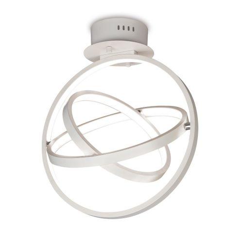 Mantra Orbital M5746 LED Ceiling Flush 3 Light White