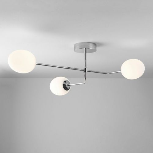 Astro Kiwi 1390005 LED Ceiling Semi-Flush 3 Light Polished Chrome