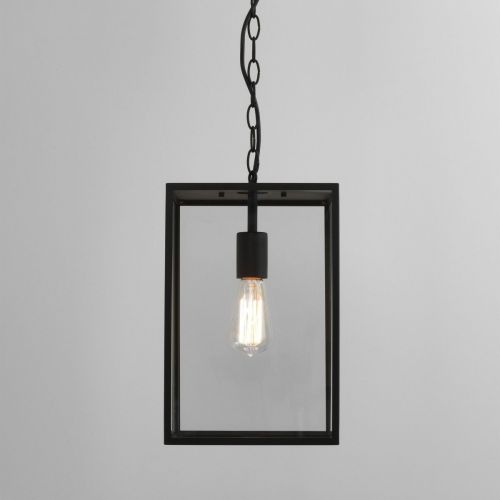 Astro Homefield Pendant 360 1095015 Outdoor Ceiling Pendant 1 Light Textured Black