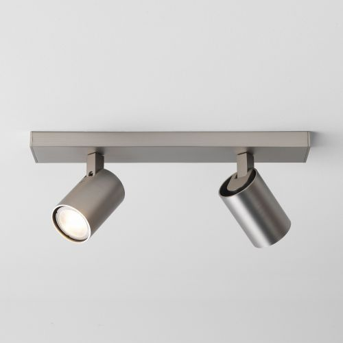 Astro 1286036 Ascoli Twin Spotlight Bar Matt Nickel