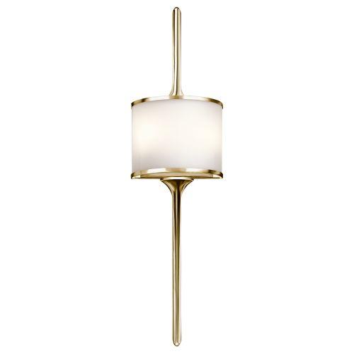 Kichler Mona 2lt Wall Light Polished Brass ELS/KL/MONA/L PB