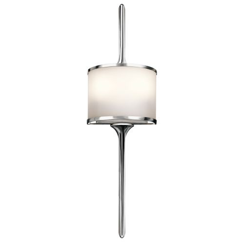 Kichler Mona 2lt Wall Light Polished Chrome ELS/KL/MONA/S PC