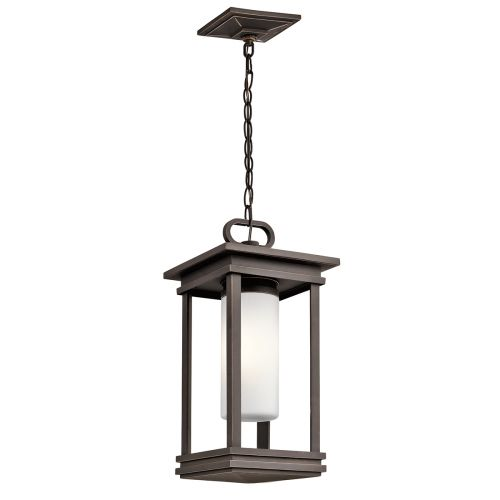 Kichler South Hope Small Chain Indoor Lantern Rubbed Bronze ELS/KL/SOUTH HOPE8/S