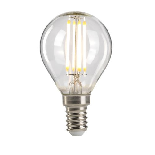 Golf Ball E14 Lamp Clear Glass Quintessentiale LP-LED4W-E14-G45