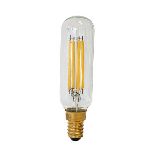 Tubular Clear E14 Lamp Clear Glass Quintessentiale LP-LED4W-E14-T27