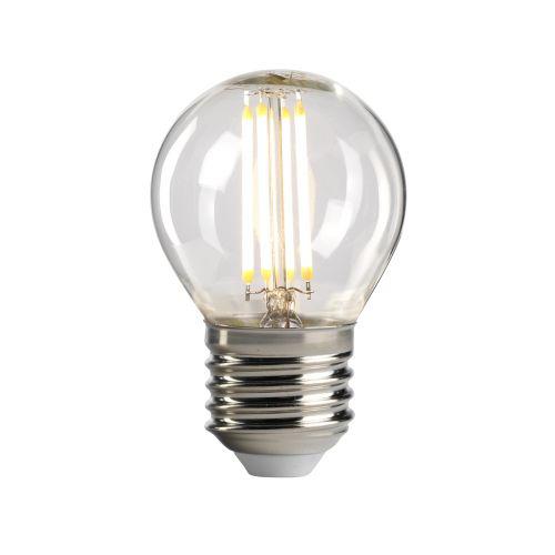 Golf Ball E27 Lamp Clear Glass Quintessentiale LP-LED4W-E27-G45
