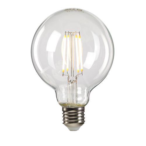 Clear Globe E27 Lamp Clear Glass Quintessentiale LP-LED8W-E27-GLC