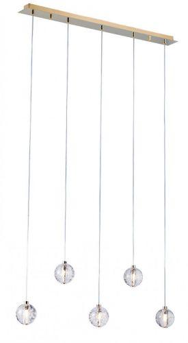 Avivo Bubbles AVI/ PD1302-5B 5 Light Linear Bar Pendant Gold