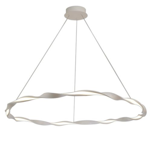 Mantra M6570 Madagascar Large Ceiling LED White Pendant