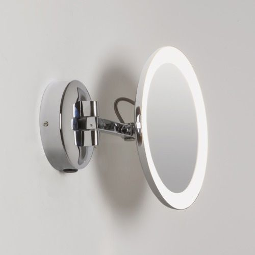 Astro Mascali LED Round 5x Magnifying Mirror 7627 Polished Chrome