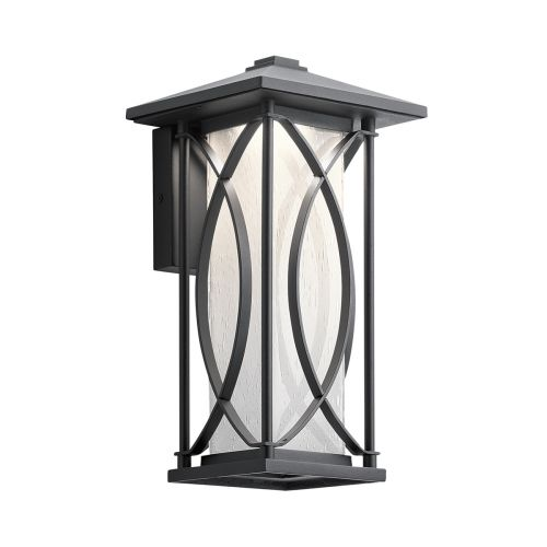 Ashbern Single Wall Lantern Small Textured Black IP44 Quintessentiale QN-ASHBERN-S