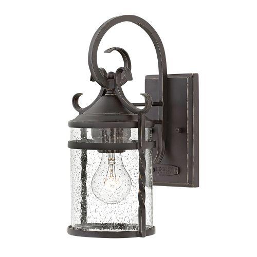 Casa 1 Light Wall Lantern Olde Black IP44 Quintessentiale QN-CASA-S