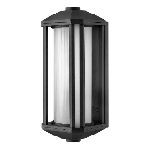 Castelle 1 Light Medium Wall Lantern Black IP44 Quintessentiale QN-CASTELLE-M-BLK