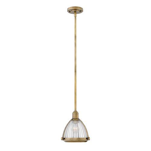 Elroy Single Pendant Heritage Brass Quintessentiale QN-ELROY-HB