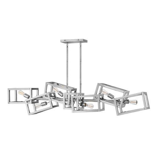 Ensemble 6 Light Bar Pendant Polished Nickel Quintessentiale QN-ENSEMBLE6-PN