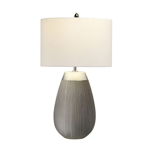 Harrow 1 Light Table Lamp Silver Quintessentiale QN-HARROW-TL