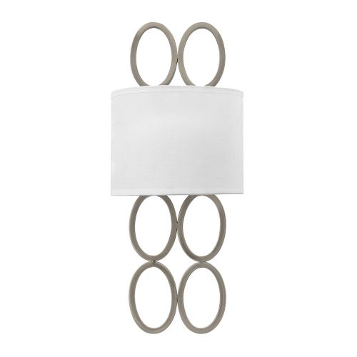 Jules 2 Light Wall Bracket Brushed Nickel Quintessentiale QN-JULES2-BN