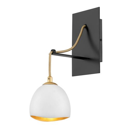 Nula 1 Light Wall Light Shell White/Luxe Gold Quintessentiale QN-NULA1