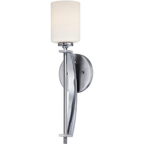 Quoizel Taylor 1lt Large Wall Light Polished Chrome ELS/QZ/TAYLOR1L BATH