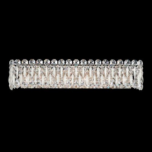 Schonbek Sarella Wall Light White Spectra Crystal RS8324E-06A