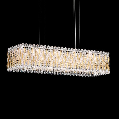 Schonbek Sarella 13 Light Pendant Fitting Heirloom Gold Spectra Crystal RS8344E-22A