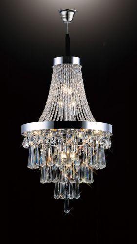 Diyas Sophia 13 Light Pendant  Polished Chrome/Crystal IL31430