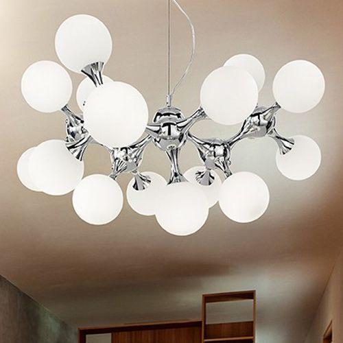 Ideal Lux Nodi Ceiling Light White SP15 082073