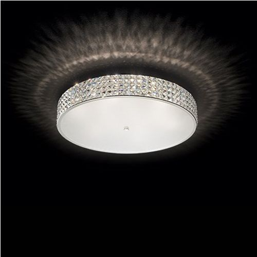 Ideal Lux Roma PL12 Flush Fitting 087870 White