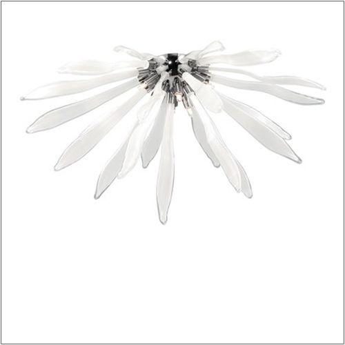 Ideal Lux Corallo Ceiling Light Flush White PL6 074627