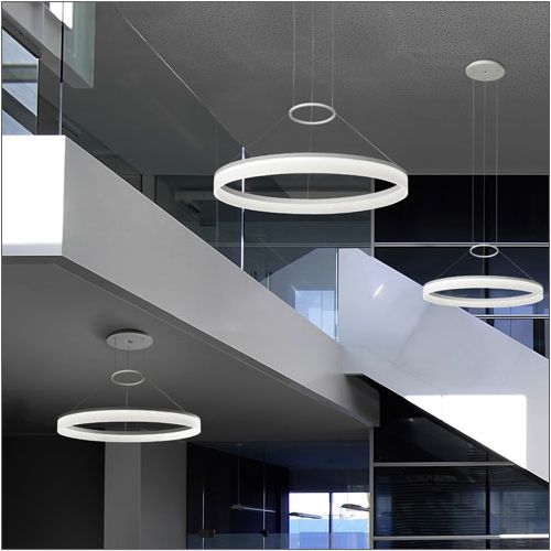Grok Circ Designer LED Pendant 00-0001-BW-M3