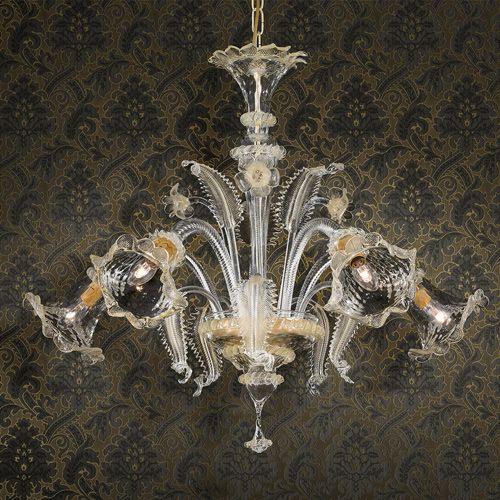 Ideal Lux Rialto Ceiling Light SP8 004099