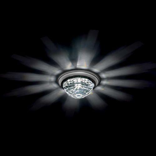 Swarovski A8992NR040010CRY Vega Swarovski Crystal Spotlight Matte Chrome Frame