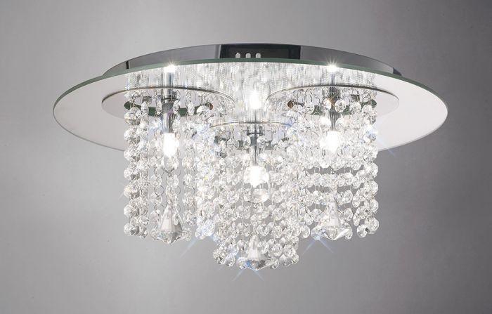 Flush Crystal Lights